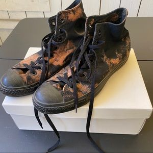 Converse Men tie dye sneaker shoes high rise